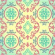Barocco seamless pattern — Stockvectorbeeld