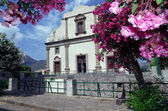Church in Lipari, Aeolian Islands, Sicily, Italy — Stock Photo