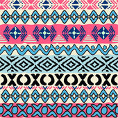 Seamless pattern in aztec style — Vetorial Stock