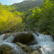 Waterfall, river, mountains, nature. (Time Lapse) — Stock Video #28996149