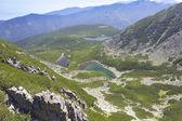Paisagem de montanha alta — Foto Stock