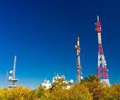 Antenne-türme — Stockfoto