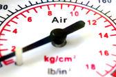 圧力計スケール — ストック写真
