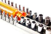 Mechanical bit tool set — Stock Photo