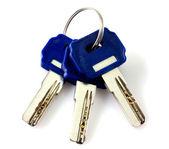 Schlüssel isoliert — Stockfoto