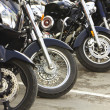 Front motorcycles wheels — Stock Photo #46817863
