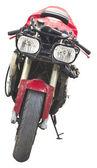Motorcycle isolated — Stock Photo
