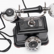 Vintage telephone of 1920 - Model ABLM BC310 — Stock Photo