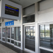 Nternal view of Dubai Monorail Station Gateway — Stock Photo