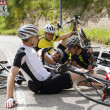 Bike accident — Stock Photo