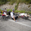 Bike accident — Lizenzfreies Foto