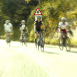 Group of cyclists on the road — Stock Photo #30398089