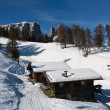 Houses in Alps — Stockfoto