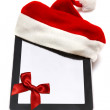 Santa Claus Tablet  — Stock Photo