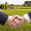 Handshaking — Stock Photo