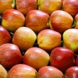 Stock Photo: Exposed, red, fresh apples as background