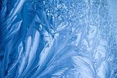 Frost draws beautiful winter background — Zdjęcie stockowe