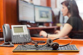 Call centre — Stockfoto