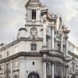 Постер, плакат: Church of San Carlo alle quattro Fonts church in Rome