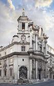 Church of San Carlo alle quattro Fonts church in Rome — Stock Photo