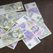Czech money, czech krown — Stock Photo