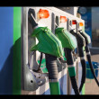 Gas station oil diesel bussines — Stock Photo