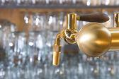 Beer tap — Stock Photo