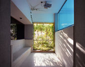 Place under privat svimming pool — 图库照片