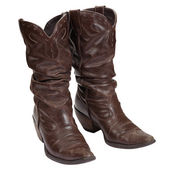 Womens cowboy boots. — Stock Photo