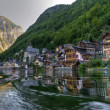 Stock Photo: Mountain lake, Hallstatt, Austria