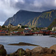 Northern landscape, Norway, Lofoten, Moskenes — Stock Photo