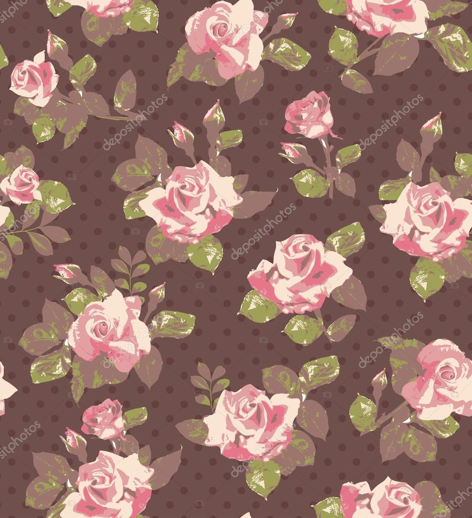 habrumalas: Pink Rose Vintage Wallpaper Images