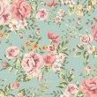 Classic wallpaper vintage flower pattern background — Stock vektor