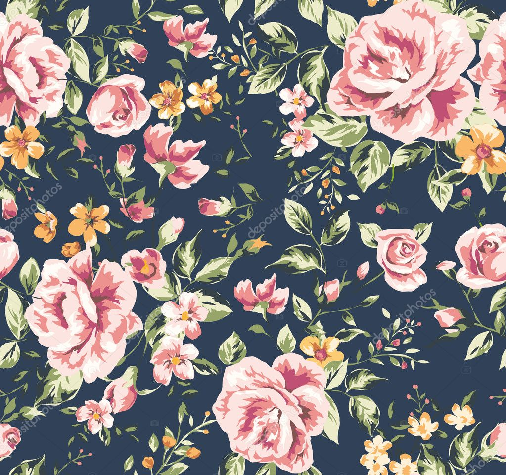Flower Pattern Wallpaper Background Flower Pattern Background