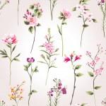 Vintage spring flower branch pattern background — Stock Vector #47814247