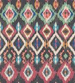 Seamless vintage ethnic vector print pattern — Stock Vector