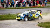 Neste Rally Finland 1st August 2013 Andersson — Stock Photo