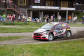 Neste rally finland 1 ° agosto 2013 ketomaa — Foto Stock