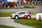 Neste Rally Finland 1st August 2013 Meeke — Stock Photo