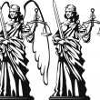 Themis. Justice — Vetorial Stock #23359690