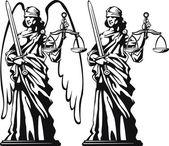 Themis. justiça — Vetorial Stock