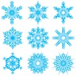 Snowflakes set — Stock Vector #31601857