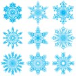 Snowflakes set — Stock Vector #31601861