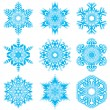 Snowflakes set — Stock Vector #31601863