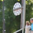 A street clock — Stock Photo