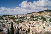 View of Granada from the Alhambra — Stock Photo