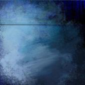 Unique Halftone Blue Grunge Painted Background Texture — Stock Photo