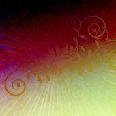 グランジの非常にユニークな巻き毛紫バースト — ストック写真