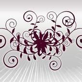 Byzantium Curly Vines Background Texture — Stock Photo