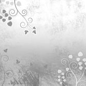 Light and Lovely Grey Curly Vines Background Texture — Stock Photo